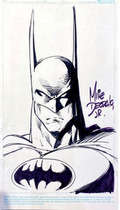 "Artist Marker ""Batman"" By Mike Deodalo Jr."