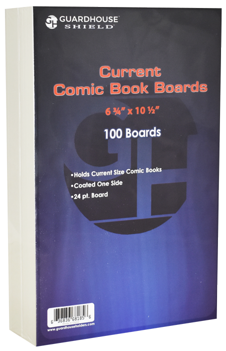 Guardhouse Boards for Current Comic Book Bags