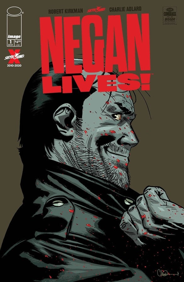 Negan Lives #1 The Walking Dead