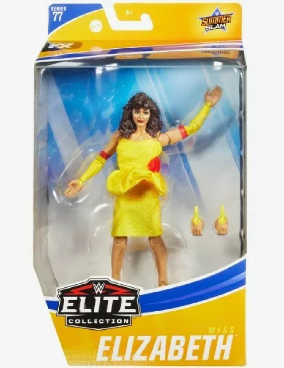WWE Miss Elizabeth Elite Collection Series 77 Summer Slam Yellow Dress 2020