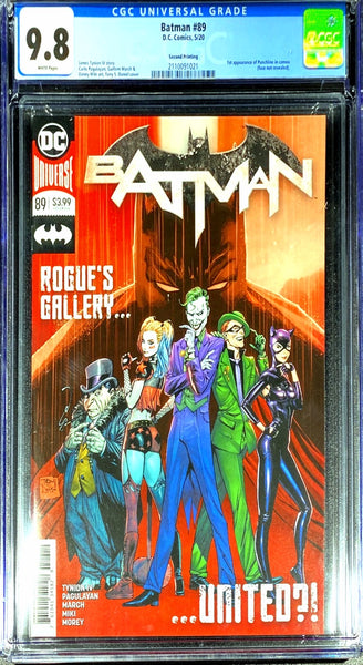 Batman 89 CGC 9.8 (Second Printing)