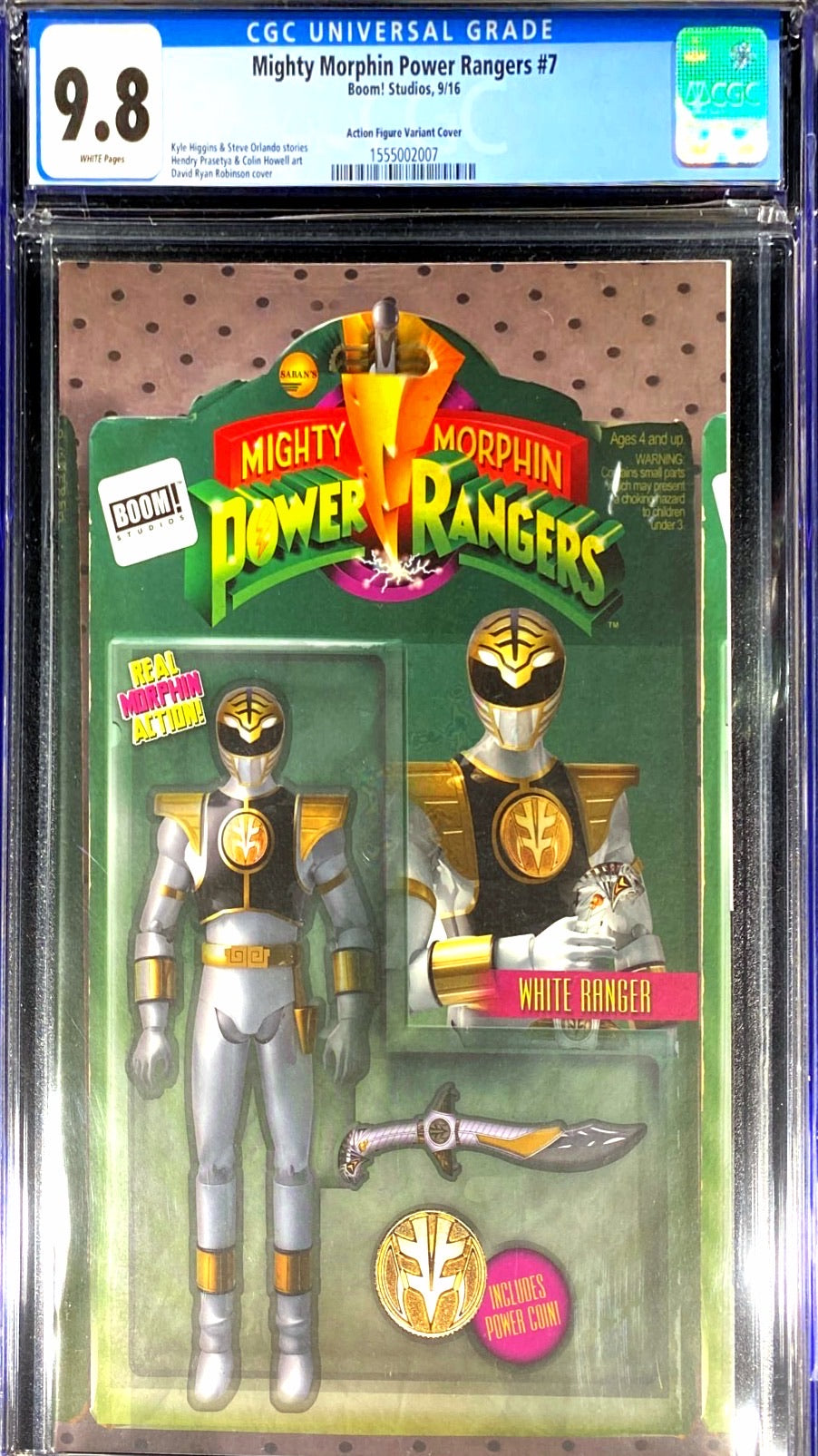 Mighty Morphin Power Rangers 7 CGC 9.8