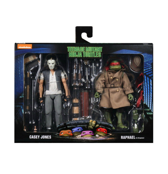 Neca Teenage Mutant Ninja Turtles Casey Jones & Raphael