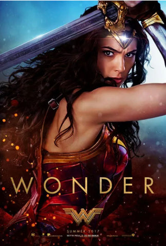 Wonder Woman - original DS movie poster 27x40 Advance Wonder