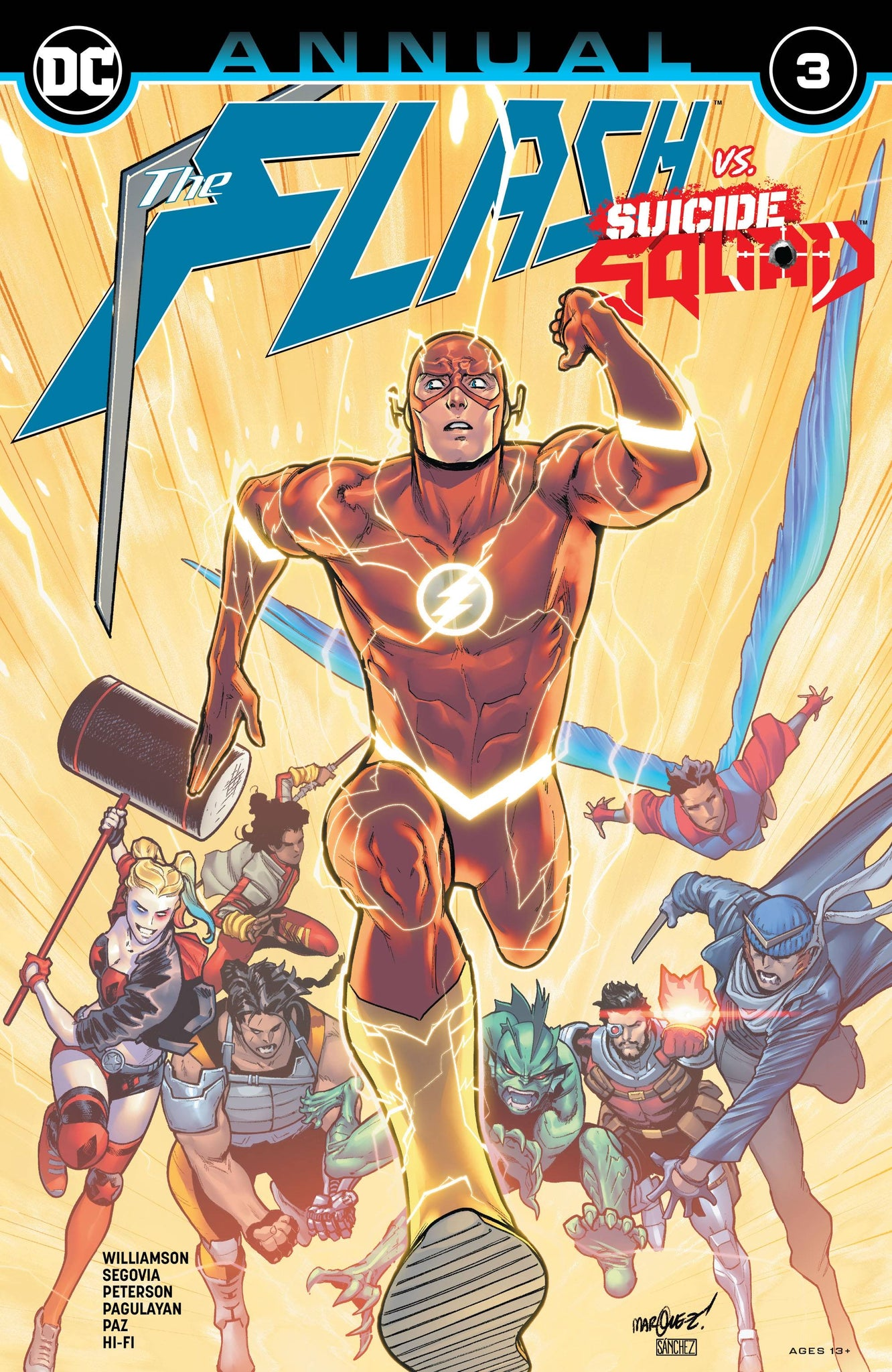 The Flash vs. Suicide Squad Annual 3