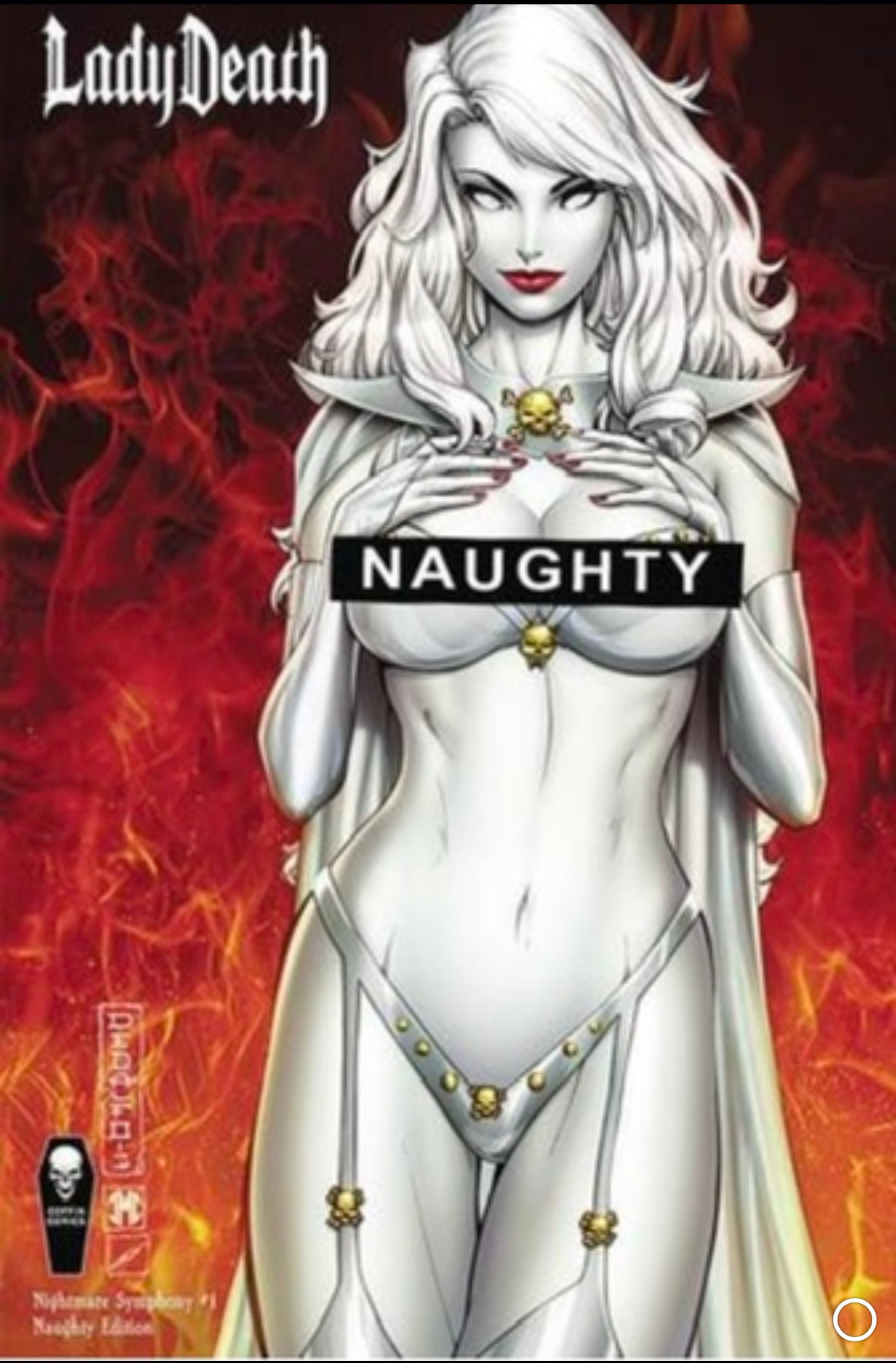 Lady Death: Nightmare Symphony #1 Naughty Edition