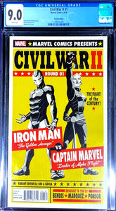 Civil War 2 Round 01 CGC 9.0