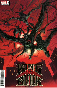 KING IN BLACK #1 STEGMAN DARKNESS REIGNS VARIANT (12/02/2020)