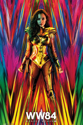 "WONDER WOMAN 1984 - MOVIE POSTER / PRINT (SIZE: 24"" x 36"")"