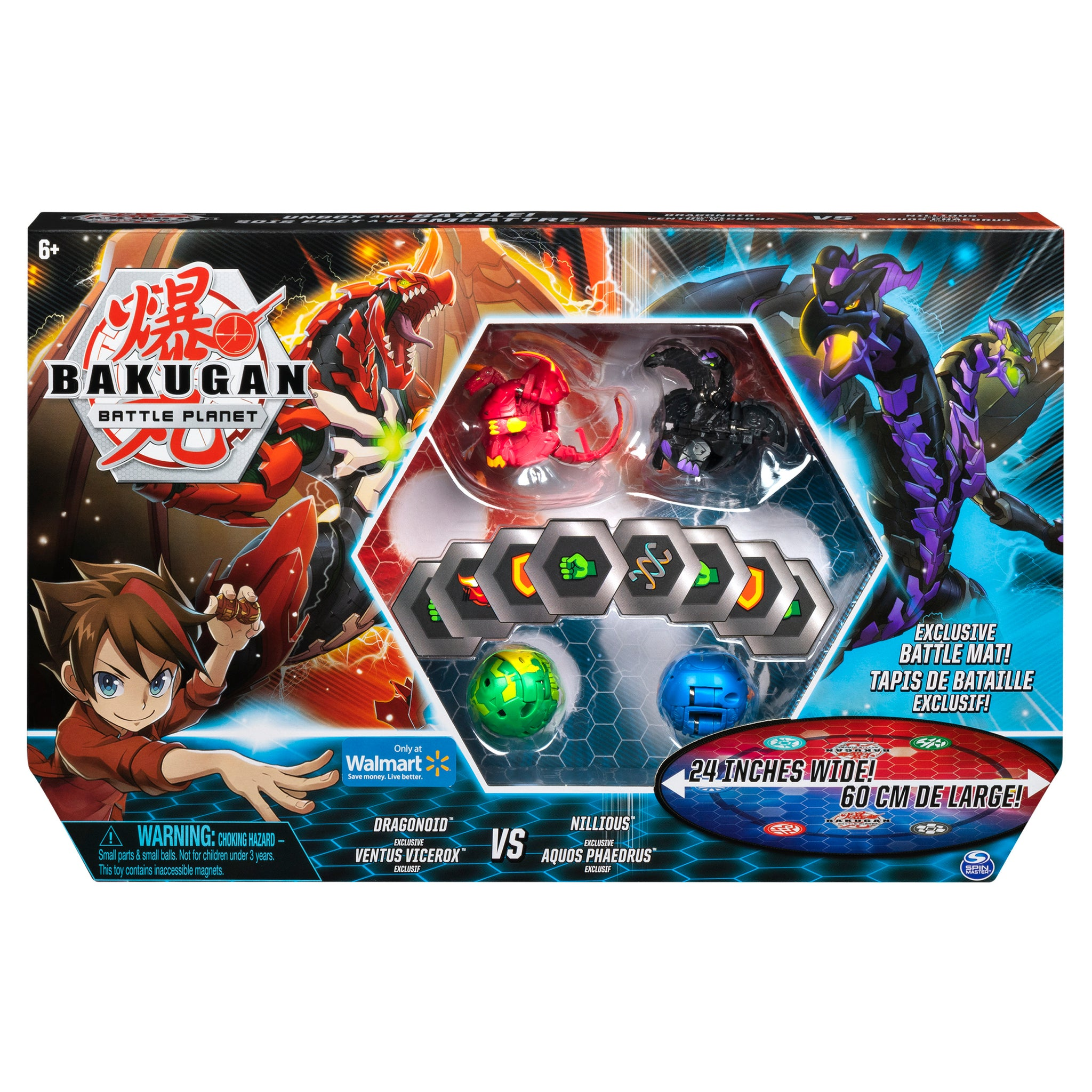 Bakugan, Battle Bundle with 4 Bakugan and Exclusive Battle Mat