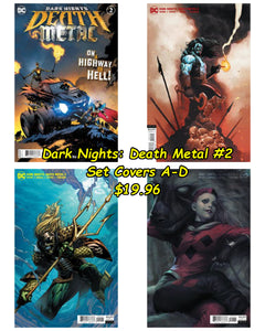 Dark Nights: Death Metal #2 (A-D Cover Set)