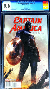 Captain America:Road to War 1 CGC 9.8
