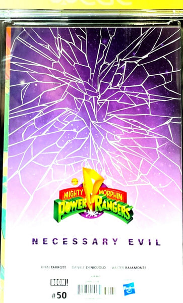 Mighty Morphin Power Rangers 50 CGC Signature Series 9.8