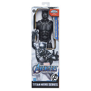 Black Panther Marvel Avengers Titan Hero Series Figure