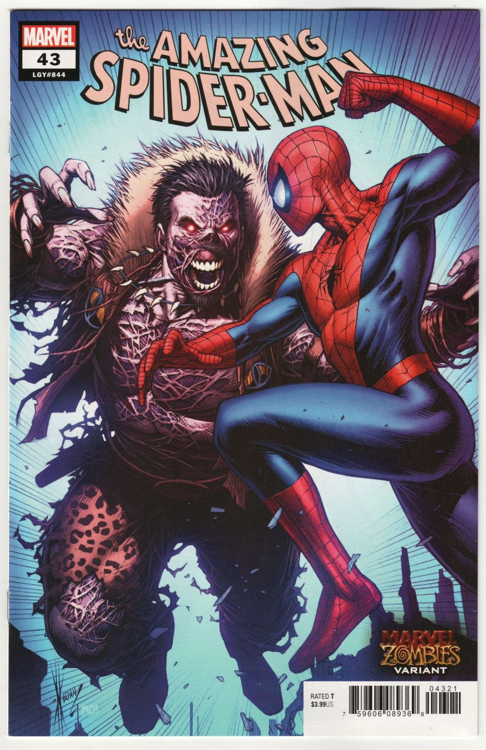 The Amazing Spider Man#43 Variant Edition
