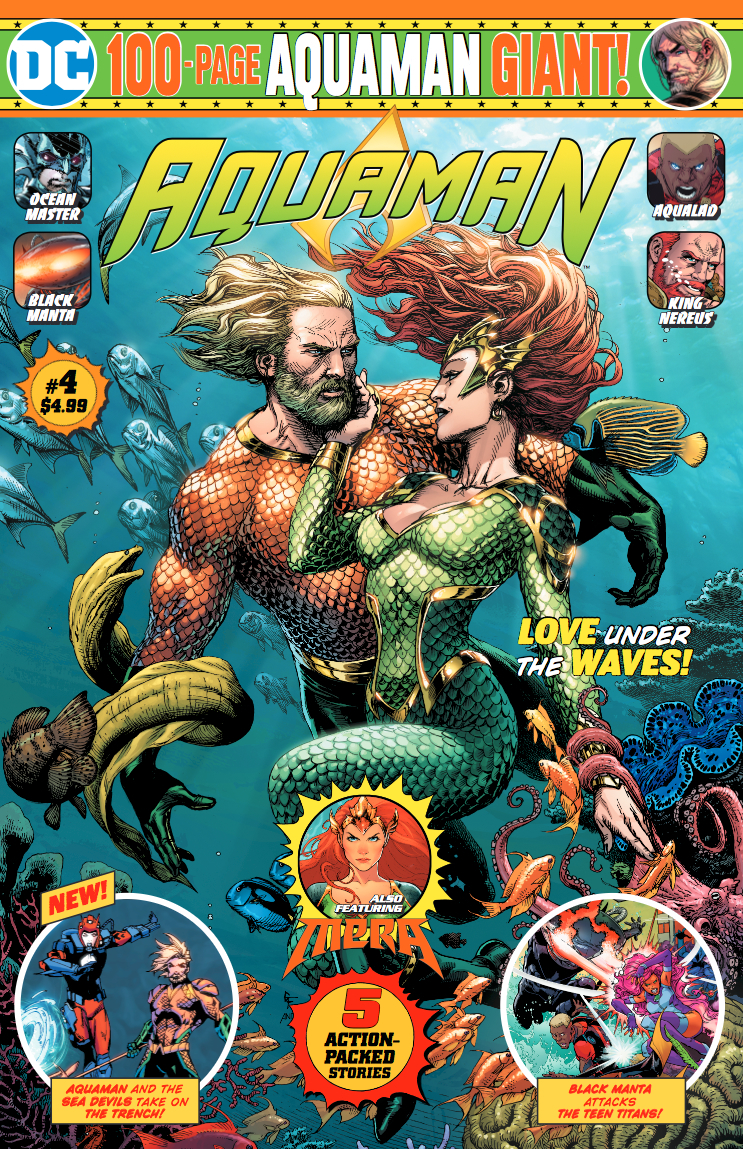 Aquaman #4 100 Page Giant
