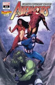 The Avengers #33 Spider Woman Variant