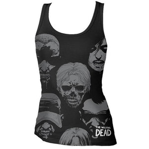 "THE WALKING DEAD: ""WALKER FACES"" TANK TOP (WOMEN'S)"