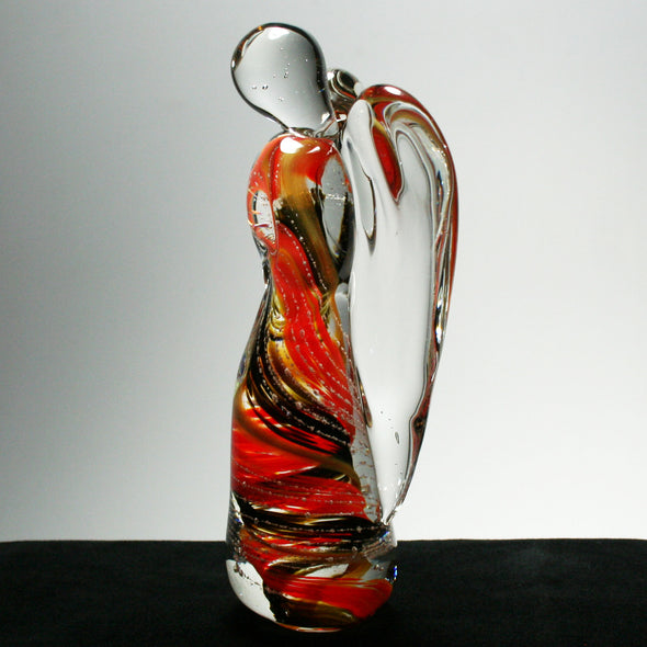 Memorial Glass Contemporay Style Angel Sculpture