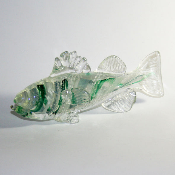 Memorial Glass Bass Sculpture