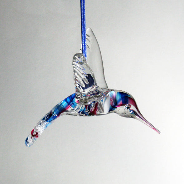Memorial Glass Hummingbird Sun Catcher