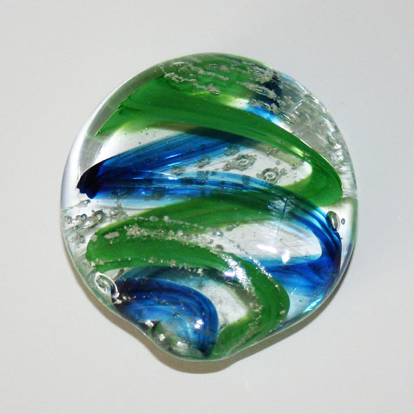 Memorial Glass Oval Touchstone