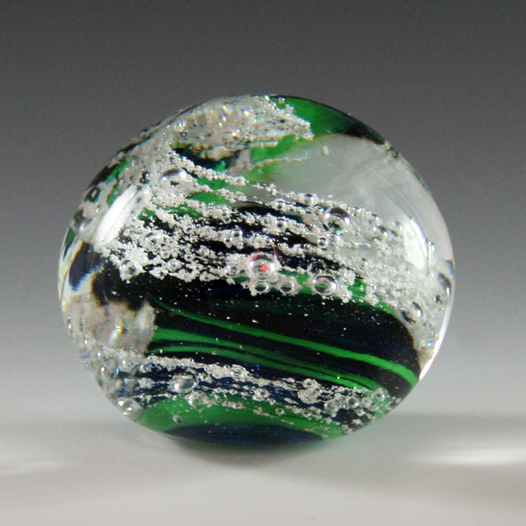Memorial Glass Sphere Paperweight