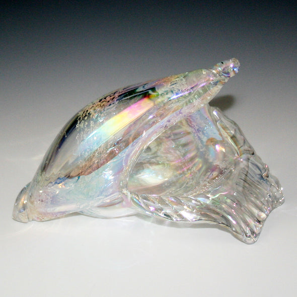 Memorial Glass Sea Shell Sculpture