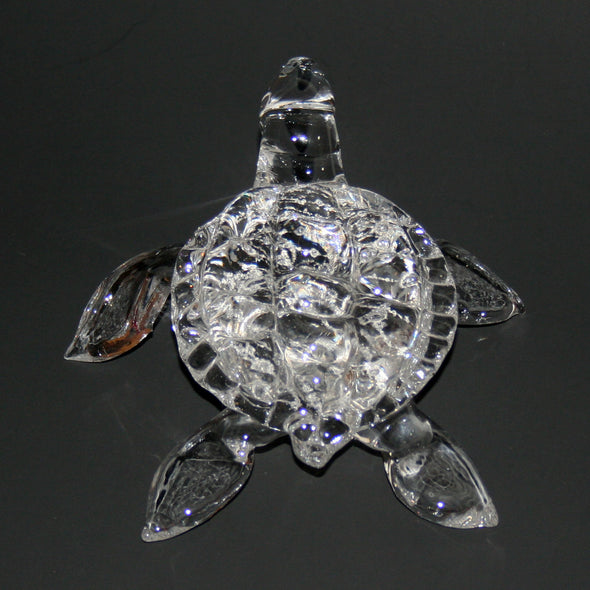 Memorial Glass Sea Turtle Sculpture