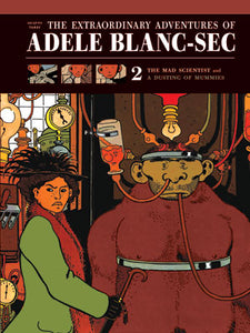The Extraordinary Adventures of Adele Blanc-Sec cover image