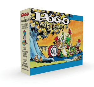 Pogo The Complete Syndicated Comic Strips Box Set: Volume 1 & 2 cover image