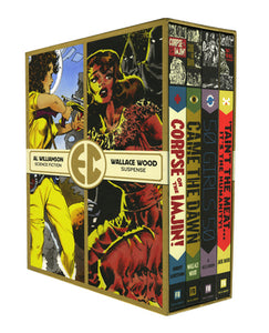 The EC Artists Library Slipcase Vol. 1 cover image