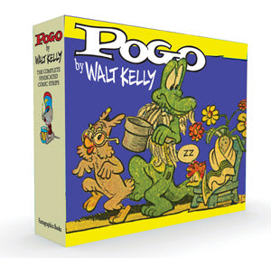 Pogo The Complete Syndicated Comic Strips Box Set: Volume 3 & 4: Evidence To The Contrary and Under The Bamboozle Bush