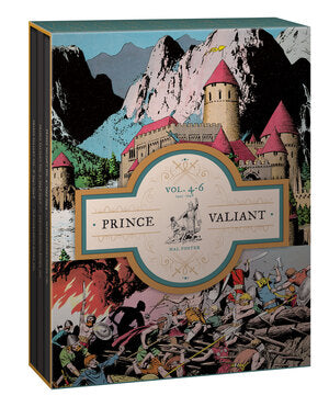 Prince Valiant Vols. 4-6: Gift Box Set