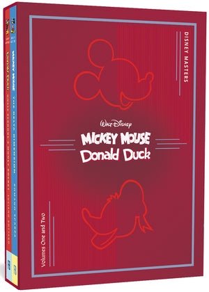 Disney Masters Collector's Box Set #1 (Walt Disney's Mickey Mouse & Donald Duck): Vols. 1 & 2 (The Disney Masters Collection)