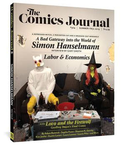 The Comics Journal #304 cover image