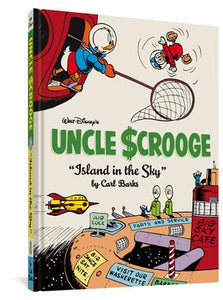 "Walt Disney's Uncle Scrooge ""Island in the Sky"" cover image"