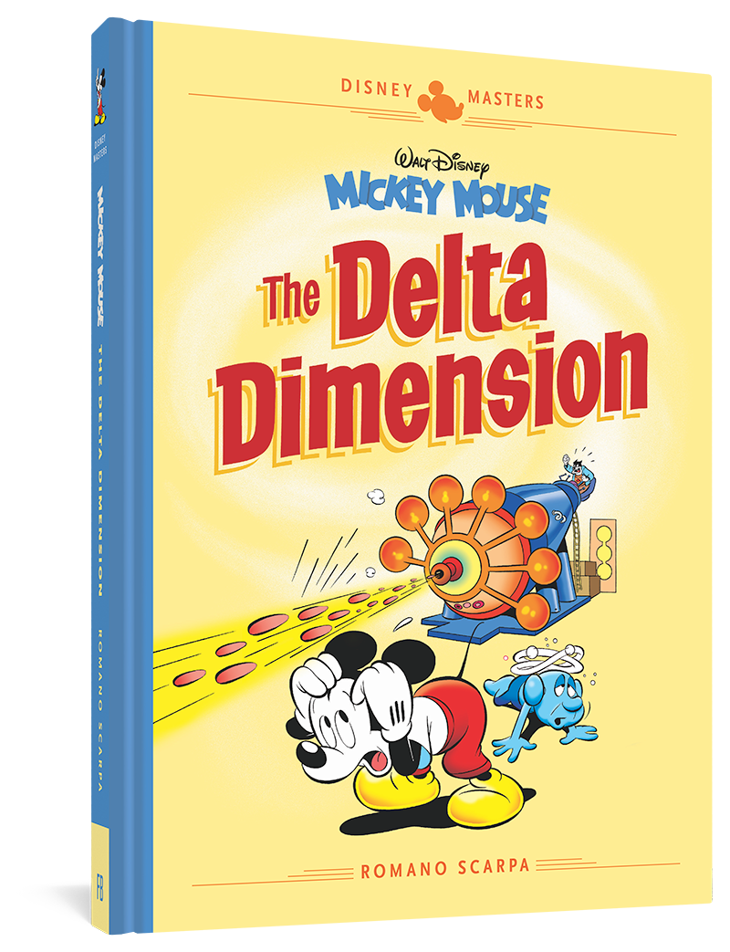 Walt Disney's Mickey Mouse: The Delta Dimension: Disney Masters Vol. 1
