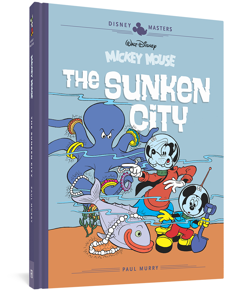Walt Disney's Mickey Mouse: The Sunken City: Disney Masters Vol. 13