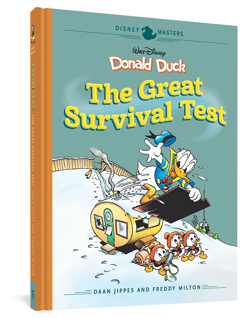 Walt Disney's Donald Duck: The Great Survival Test: Disney Masters Vol. 4