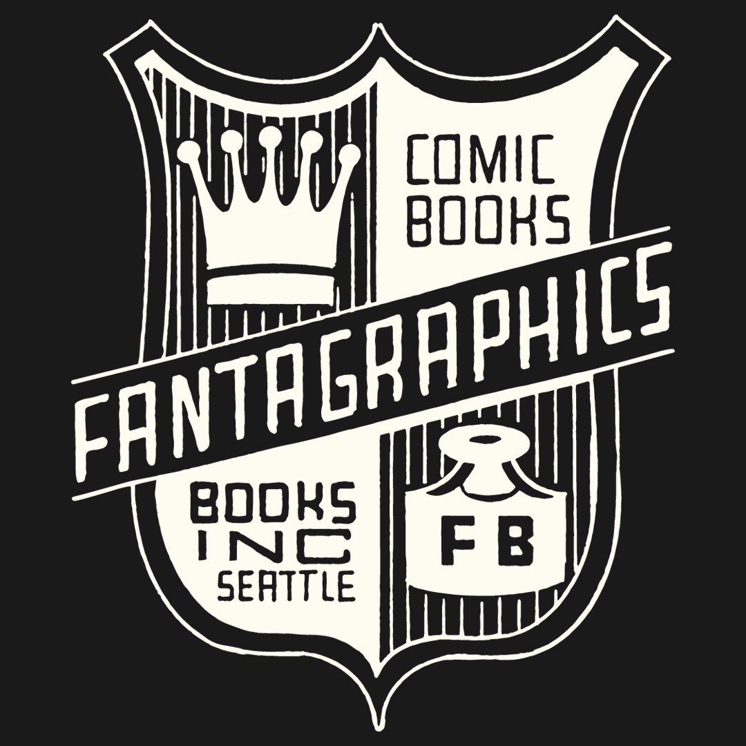 Fantagraphics Silk Screened T-shirts: Classic Clowes Shield