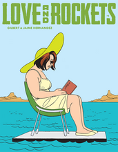 Load image into Gallery viewer, Love and Rockets Comics Vol. IV #8 cover image