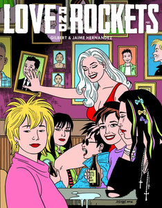 Love and Rockets Comics Vol. IV #1 cover image