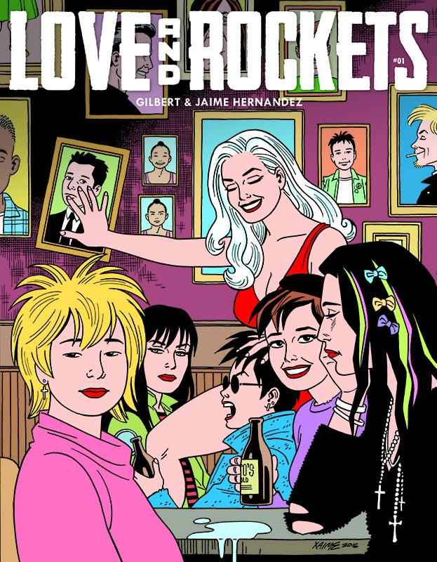Love and Rockets Comics Vol. IV #1