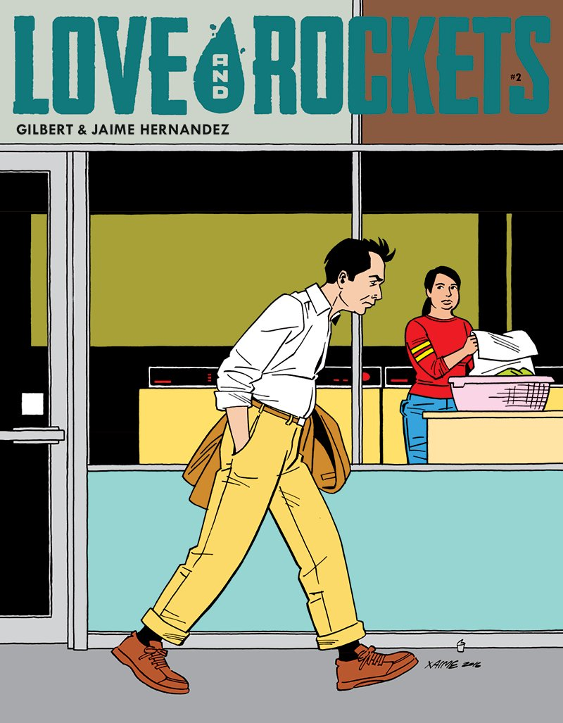 Love and Rockets Comics Vol. IV #2