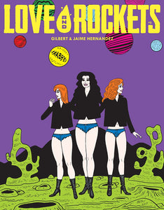 Love and Rockets Comics Vol. IV #3 cover image