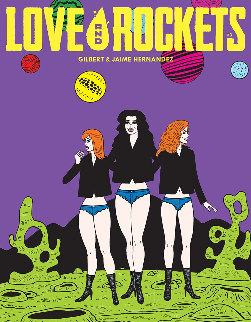 Love and Rockets Comics Vol. IV #3