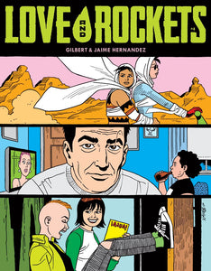 Love and Rockets Comics Vol. IV #4 FANTA variant cover image