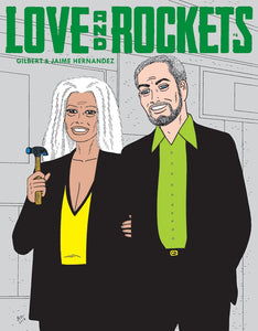 Love and Rockets Comics Vol. IV #6 cover iamge