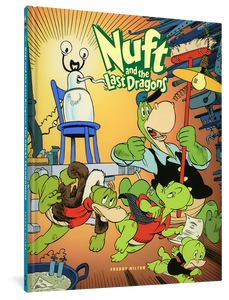 Nuft and the Last Dragons, Volume 1 cover image